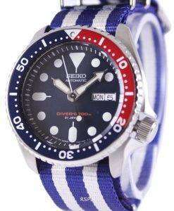 Seiko Automatic Divers 200M NATO Strap SKX009J1-NATO2 Mens Watch