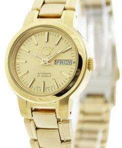 セイコー 5 自動 21 宝石 SYME46K1 SYME46K SYME46 レディース腕時計