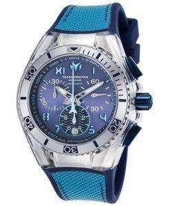 TechnoMarine カリフォルニア クルーズ コレクション クロノグラフ TM 115014 ユニセックス腕時計