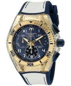 TechnoMarine カリフォルニア クルーズ コレクション クロノグラフ TM 115018 ユニセックス腕時計
