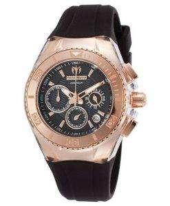 TechnoMarine つ星クルーズ コレクション クロノグラフ TM 115033 レディース腕時計