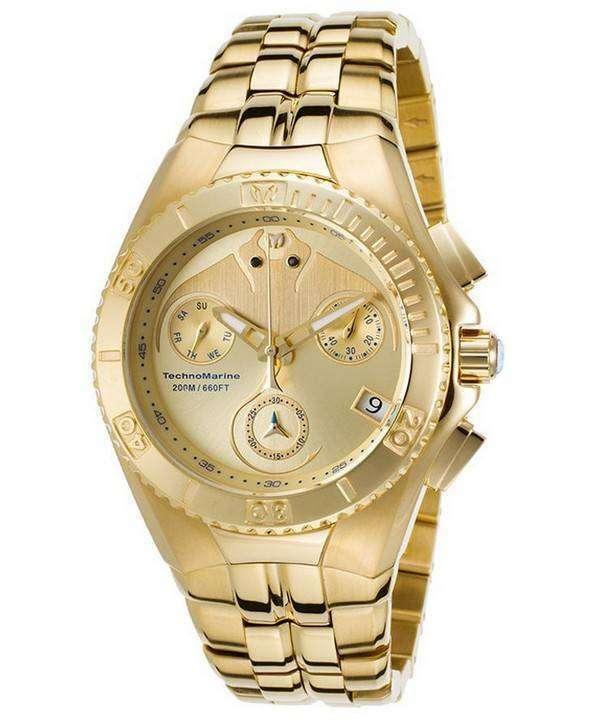 TechnoMarine 夢クルーズ コレクション クロノグラフ TM 115096 メンズ腕時計