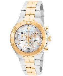 TechnoMarine 真珠海コレクション クロノグラフ TM 715001 レディース腕時計