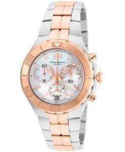 TechnoMarine 真珠海コレクション クロノグラフ TM 715002 レディース腕時計