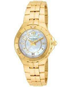 TechnoMarine 真珠海コレクション クォーツ TM 715009 レディース腕時計
