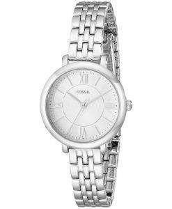 化石ジャクリーン ミニ水晶ステンレス鋼 ES3797 レディース腕時計