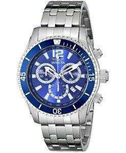 インビクタ II 専門ブルー ダイヤル 0620年クロノグラフ メンズ腕時計