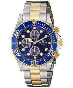 インビクタ Pro ダイバー クロノグラフ クォーツ 200 M 1773 メンズ腕時計