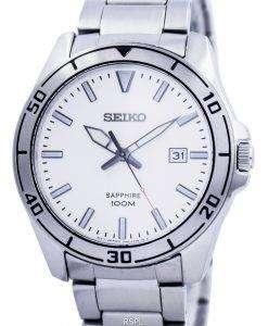 セイコー クオーツ サファイア ガラス ホワイト ダイヤル SGEH59 SGEH59P1 SGEH59P メンズ腕時計