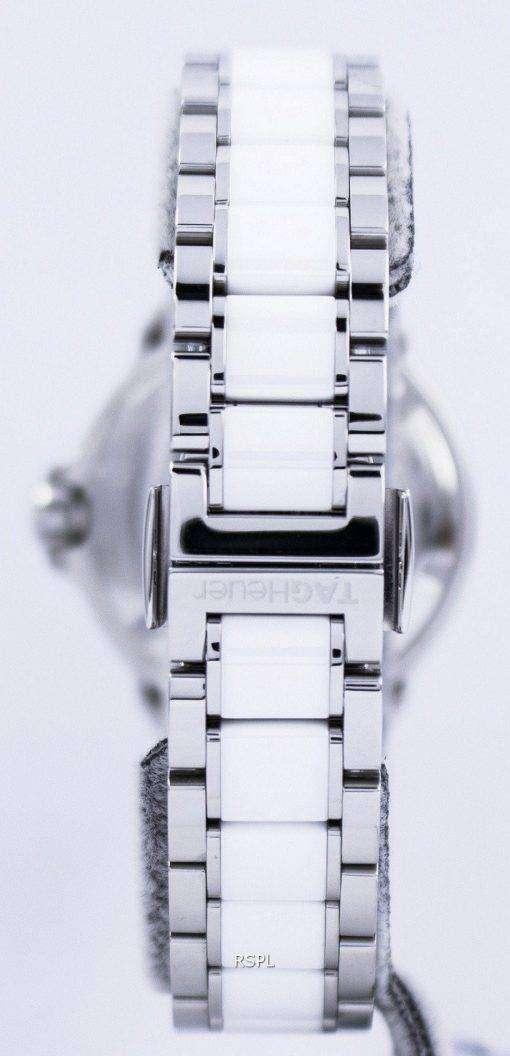 タグ ・ ホイヤー フォーミュラ 1 ホワイト セラミック ダイヤモンド スイス製 WAH1213。BA0861 レディース腕時計