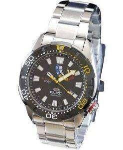オリエント M フォース自動 200 M ダイバー パワー リザーブ WV0181EL メンズ腕時計