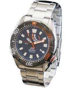 オリエント M フォース自動 200 M ダイバー パワー リザーブ WV0191EL メンズ腕時計