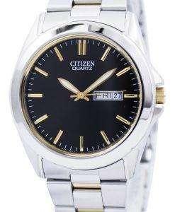 シチズンクォーツ 2 トーン BF0584 56E メンズ腕時計
