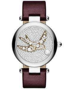 マーク ・ ジェイコブス義母結晶舗装石英 MJ1488 レディース腕時計