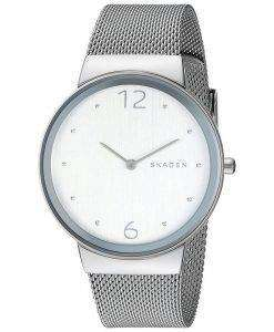 スカーゲン Freja スチール メッシュ石英 SKW2380 レディース腕時計
