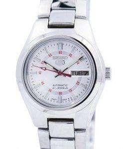 セイコー 5 自動 21 宝石 SYMC21 SYMC21K1 SYMC21K レディース腕時計
