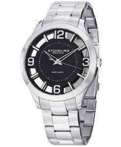 Stuhrling ウィンチェ スター スイス製クオーツ 754.02 メンズ腕時計