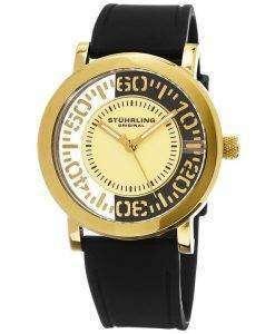 Stuhrling ウィンチェ スター水晶 830.02 メンズ腕時計