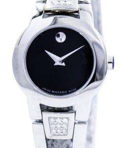 Movado Amorosa スイス製クォーツ ダイヤモンド 0604982 レディース腕時計