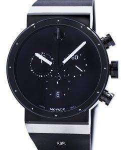 Movado サファイア シナジー クロノグラフ スイス製クォーツ 0606501 メンズ腕時計