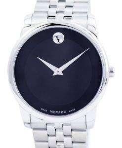 Movado 美術館古典的なスイス製クオーツ 0606504 メンズ腕時計