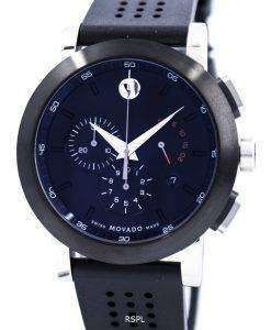 Movado 美術館スポーツ クロノグラフ スイス製クォーツ 0606545 メンズ腕時計