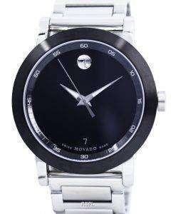 Movado 美術館スポーツ スイス製クォーツ 0606604 メンズ腕時計