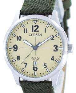 シチズンクォーツ シャンパン ダイヤル BI1050-05 メンズ腕時計 X