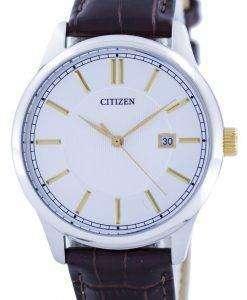 市民クォーツシルバー ダイヤル BI1054 04A メンズ腕時計