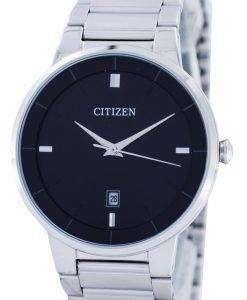 市民クオーツ ブラック ダイヤル BI5010 59E メンズ腕時計