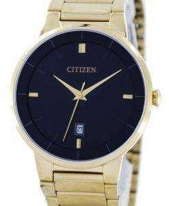 市民クオーツ ブラック ダイヤル BI5012 53E メンズ腕時計