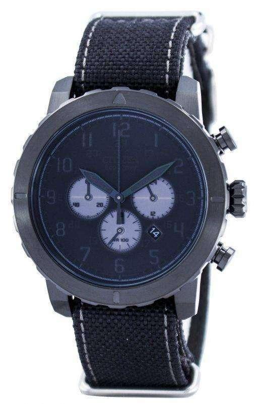 市民エコドライブ軍事クロノグラフ CA4098 06E メンズ腕時計