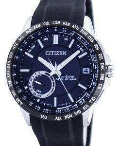 市民エコ ・ ドライブ サテライト ウェーブ GPS 世界時間パワー リザーブ CC3005 18E 男性用の腕時計