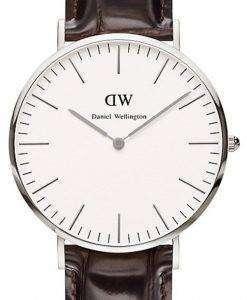 ダニエル ウエリントン クラシック ニューヨーク水晶 DW00100025 (0211DW) メンズ腕時計