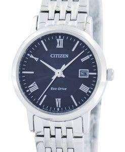 シチズンエコ ドライブ日本 EW1580 50E レディース腕時計