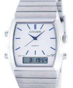 市民石英アラーム クロノグラフ アナログ デジタル JM0540-51 a メンズ腕時計