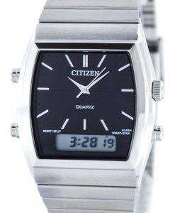 市民石英アラーム クロノグラフ アナログ デジタル JM0540 51E メンズ腕時計