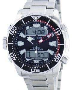 市民アクアランド プロマスター ダイバーズ 200 M アナログ デジタル JP1090-86 e メンズ腕時計