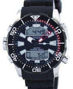 市民アクアランド プロマスター ダイバーズ 200 M アナログ デジタル JP1098 17E メンズ腕時計