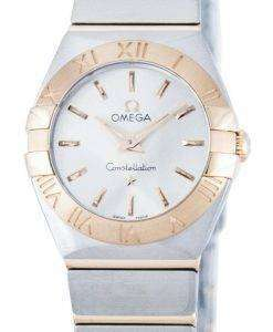 オメガ コンステレーション クォーツ パワー リザーブ 123.20.24.60.02.001 レディース腕時計