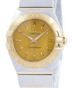 オメガ コンステレーション クォーツ 123.20.24.60.08.001 レディース腕時計