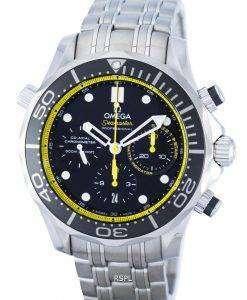 オメガ シーマスター プロフェッショナル コーアクシャル ダイバーズ クロノグラフ自動 212.30.44.50.01.002 メンズ腕時計