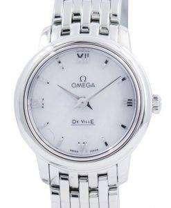 オメガ ・ デ ・ ヴィル プレステージ クォーツ 424.10.24.60.05.001 レディース腕時計