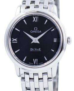 オメガ ・ デ ・ ヴィル プレステージ クォーツ 424.10.27.60.01.001 レディース腕時計