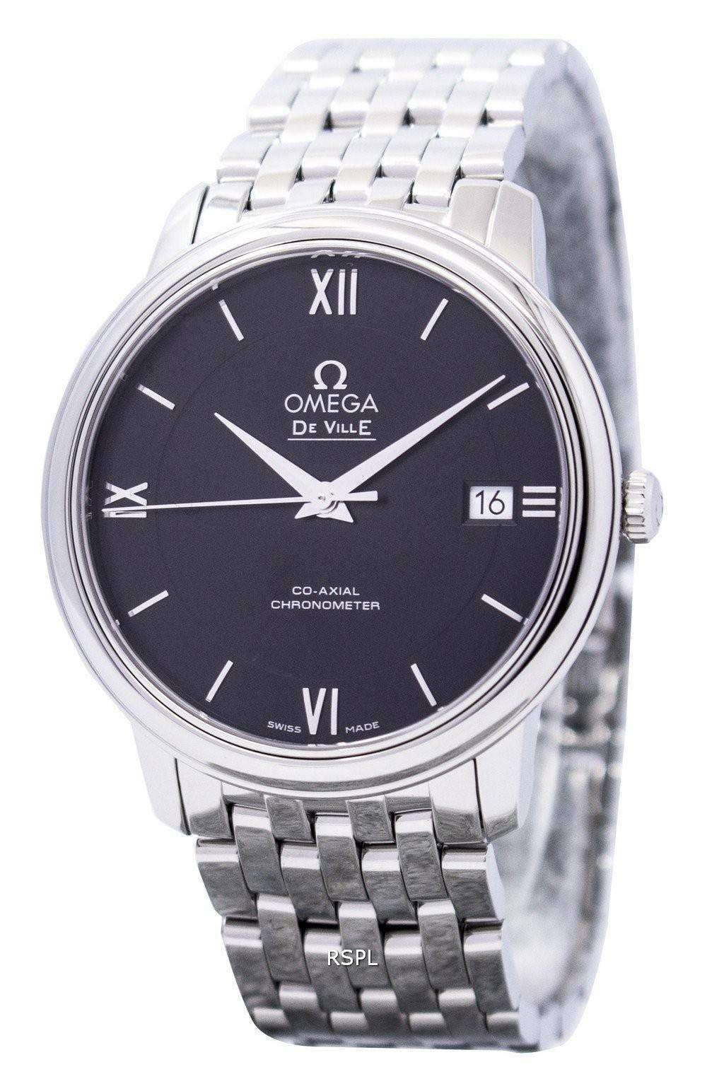Omega De Ville Prestige Co-Axial Chronometer 424.10.37.20.01.001 Men's Watch