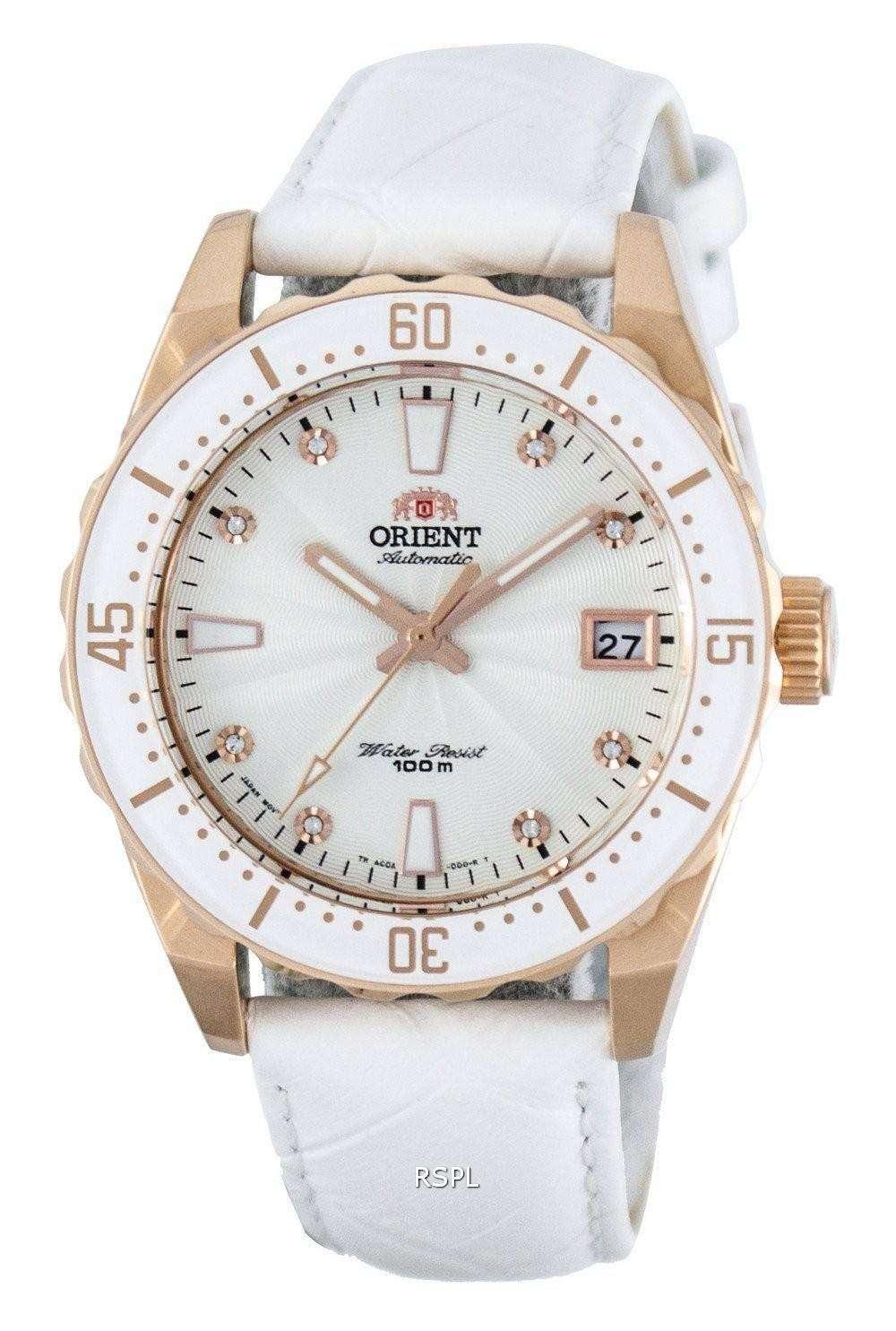 オリエント自動結晶アクセント パワー リザーブ FAC0A003W0 レディース腕時計