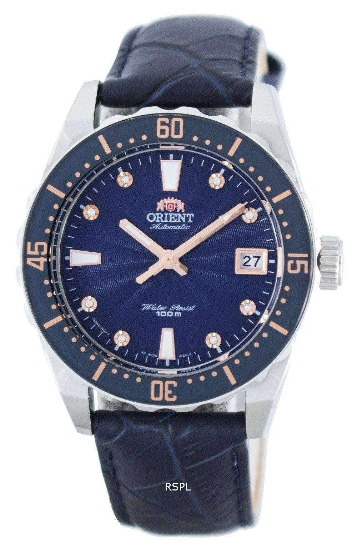 オリエント自動結晶アクセント パワー リザーブ FAC0A004D0 レディース腕時計
