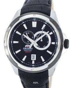 スポーティな自動パワー リザーブ FET0V003B0 メンズ腕時計をオリエントします。
