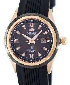東洋の宝石自動パワー リザーブ クリスタル アクセント FNR1V001T0 レディース腕時計