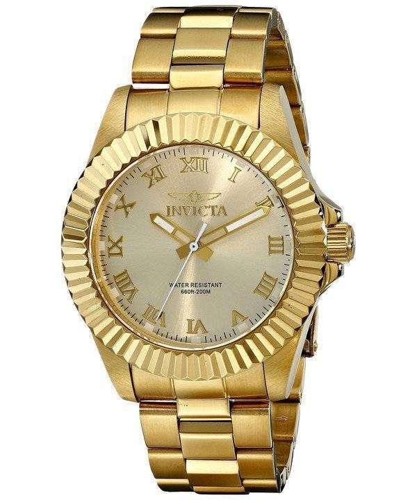 インビクタ Pro ダイバー クォーツ 200 M 16739 男性用の腕時計